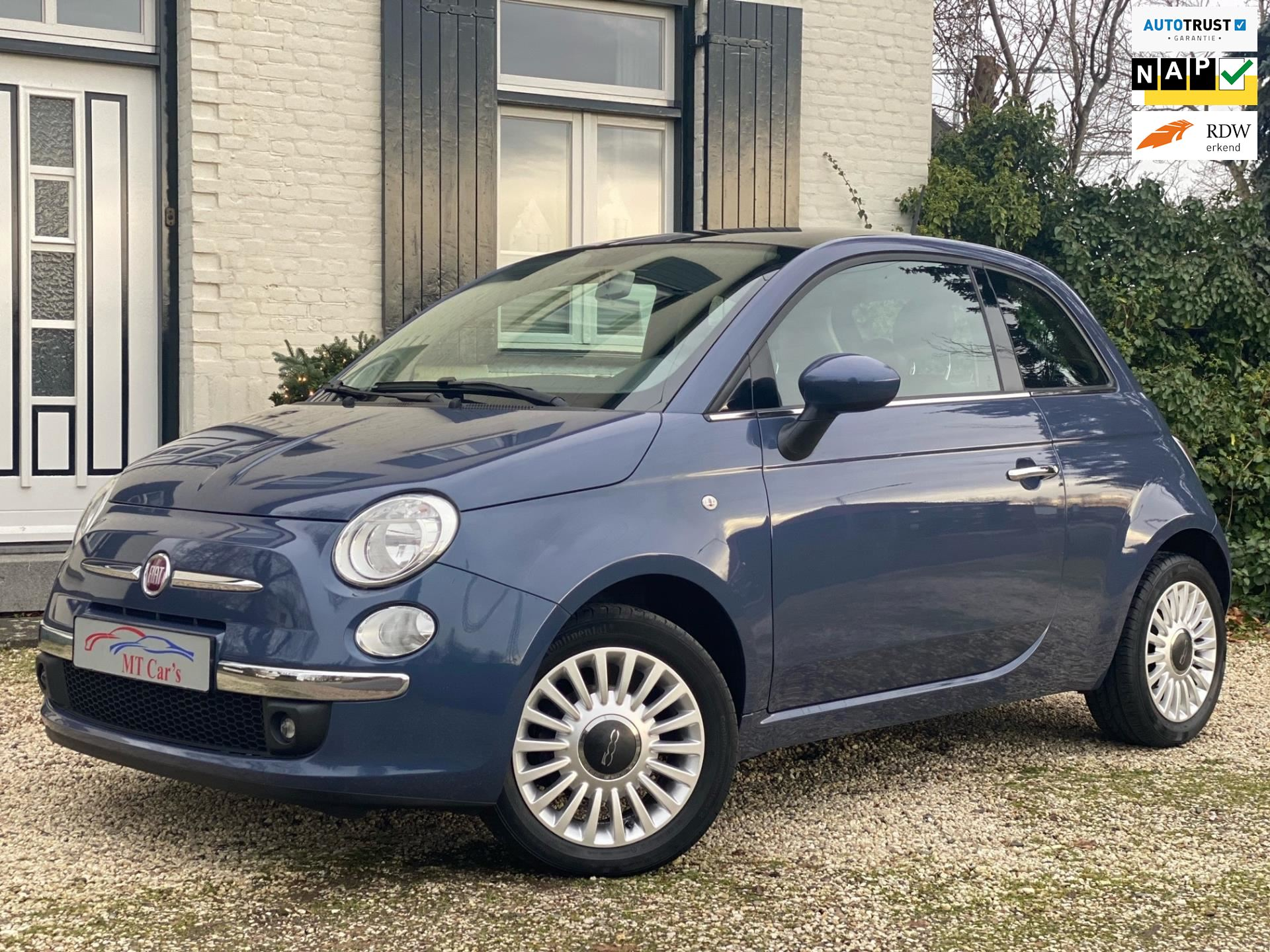 Fiat 500 occasion - M.T.  Cars & Carcleaningcenter