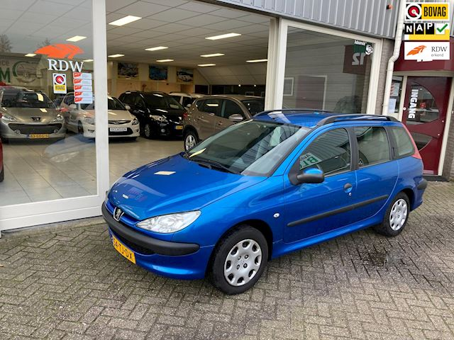 Peugeot 206 SW 1.4 One-line