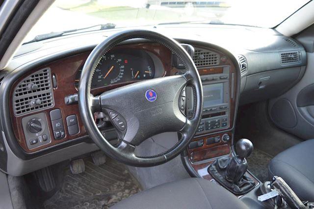 Saab 9-5 2.2 TiD Vector bj04 Navi, Airco, elec pak