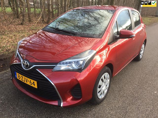 Toyota Yaris 1.3 VVT-i Aspiration, 5 deurs, airco, cruise cntr, achteruitrijcamera