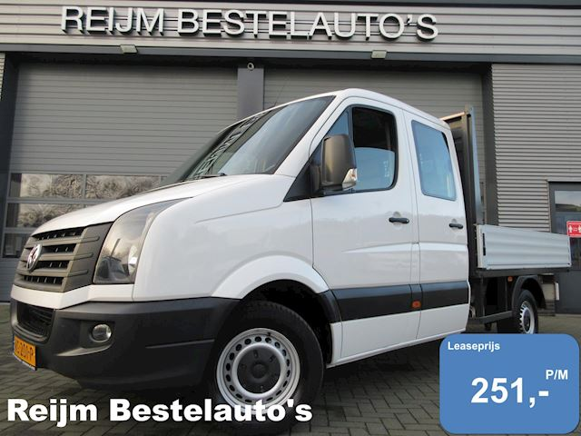 Volkswagen Crafter 35 2.0 TDI open laadbak dc pick-up