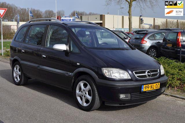 Opel Zafira 2.2-16V SPORT / 7-PERSOONS / AIRCO / TREKHAAK / nieuwe APK / NAP / SCHUIFDAK / NETTE STAAT / LM-VELGEN