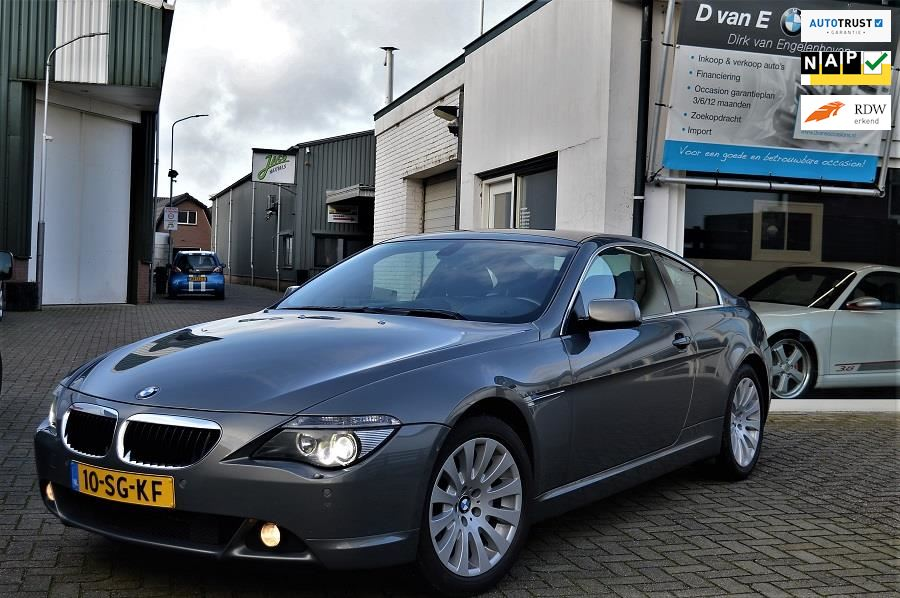 BMW 6-serie occasion - D van E Occasions