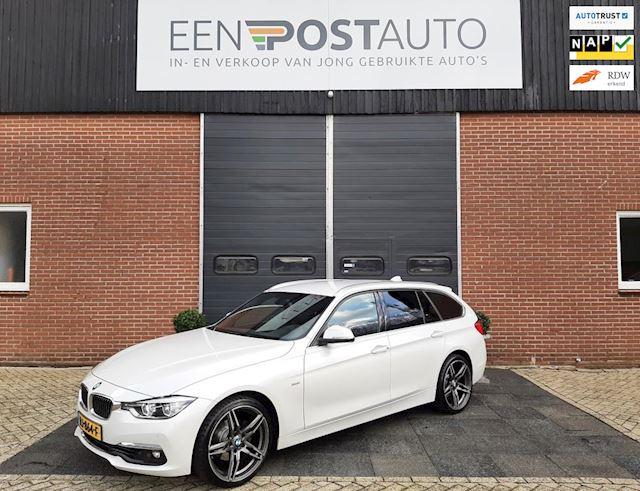 BMW 3-serie Touring 318i High Executive, Alarm, Xenon-Led, Leer, Full map-navi, Zwarte hemel, 19