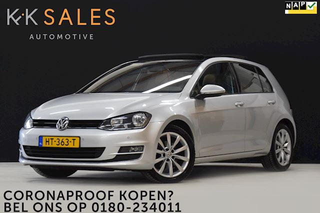 Volkswagen Golf 1.4 TSI ACT 150 PK! Highline Sport [SCHUIFDAK, LEDER, ADAPTIVE, CAMERA, GROOT NAVI, CRUISE, PDC, NIEUWSTAAT]
