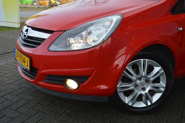 Opel Corsa 1.2-16V Selection bj09 Airco, Leder, elec pak