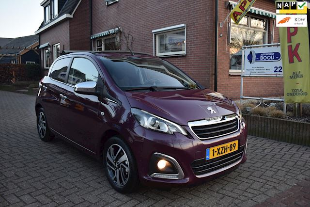Peugeot 108 1.0 e-VTi Première Top/CABRIO/AIRCO-ECC/CAMERA/LED/BLUETOOTH/15 INCH /NETTE STAAT