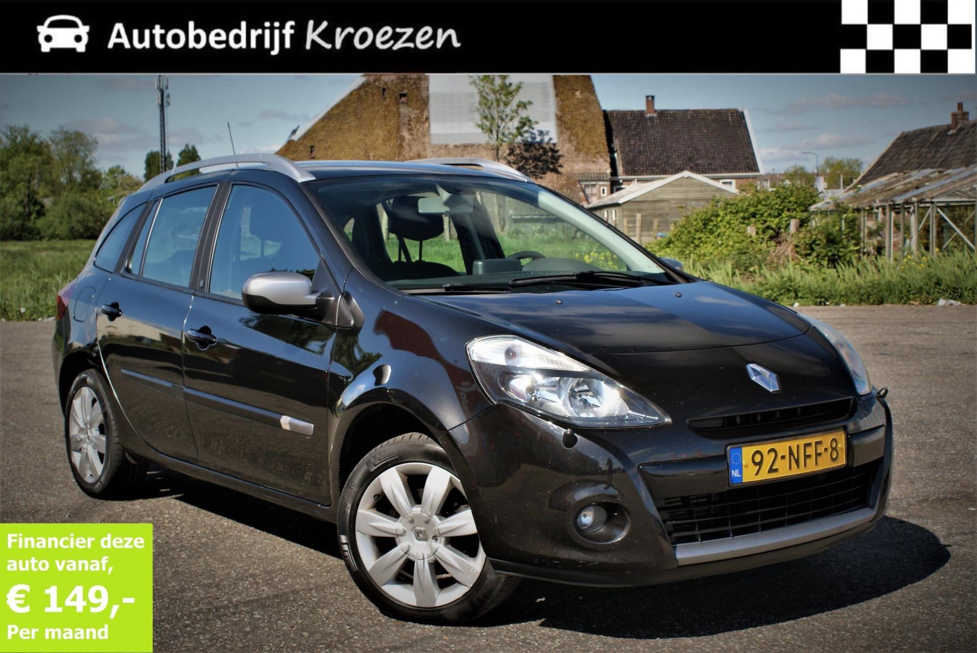 Renault Clio occasion - Autobedrijf Kroezen