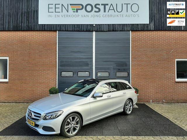 Mercedes-Benz C-klasse Estate 180 AMG Sport Ed. Pano.dak, Xenon-Led, Aut. Achterklep, Wegklapbare haak.