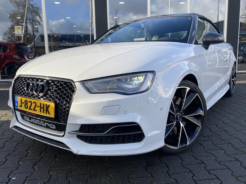 Audi S3 Cabriolet occasion - Cathy Dealer Occasions