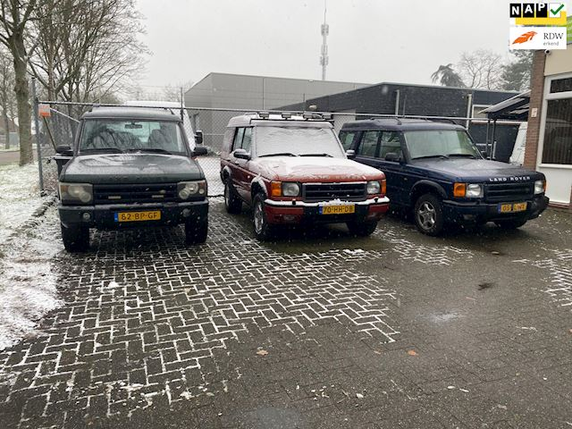 Gezocht Landrover Discovery's   Alles aanbieden Snelle afhandeling Gratis Transport.