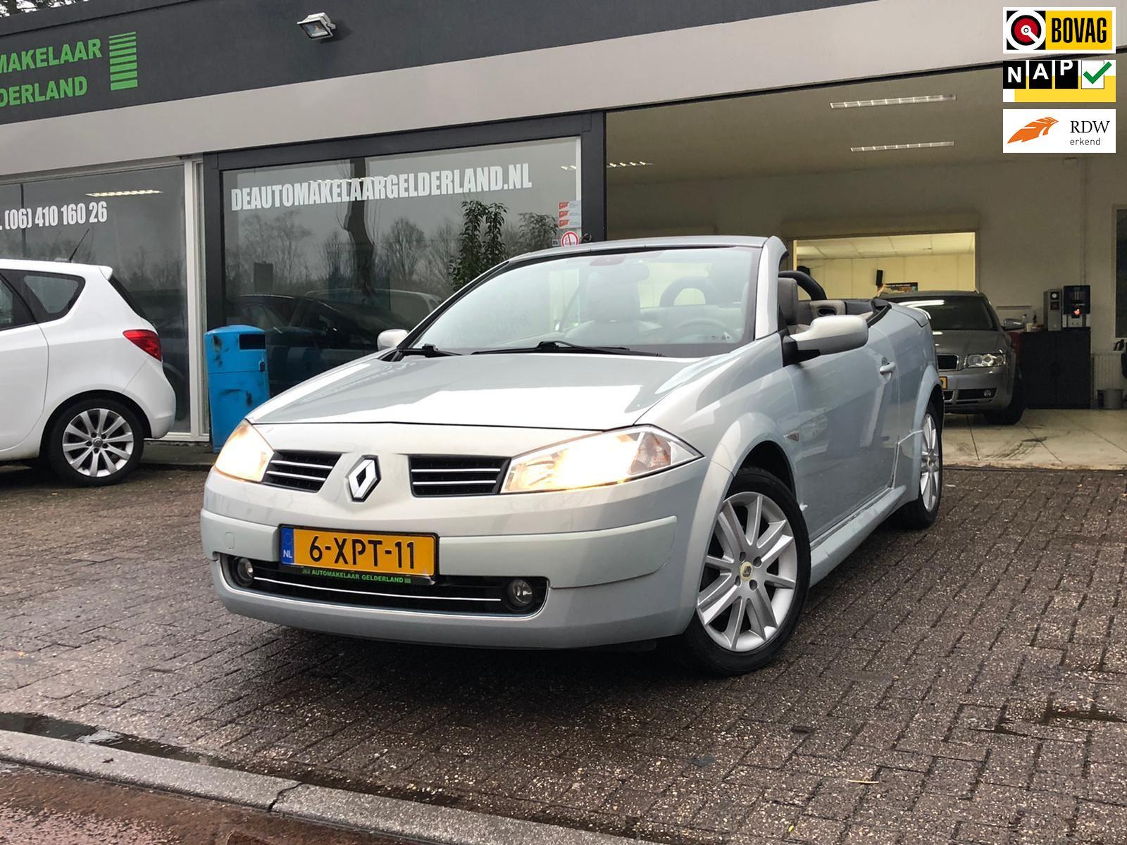 Renault Mégane coupé cabriolet occasion - De Automakelaar Gelderland