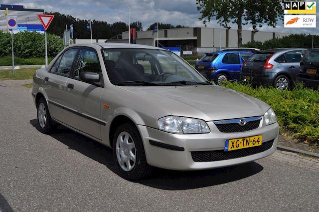 Mazda 323 1.5i 16v LX SEDAN / 1e EIGENAAR!! / 46.289 KM NAP!! / NIEUWSTAAT / nieuwe APK / STUURBEKRACHTIGING