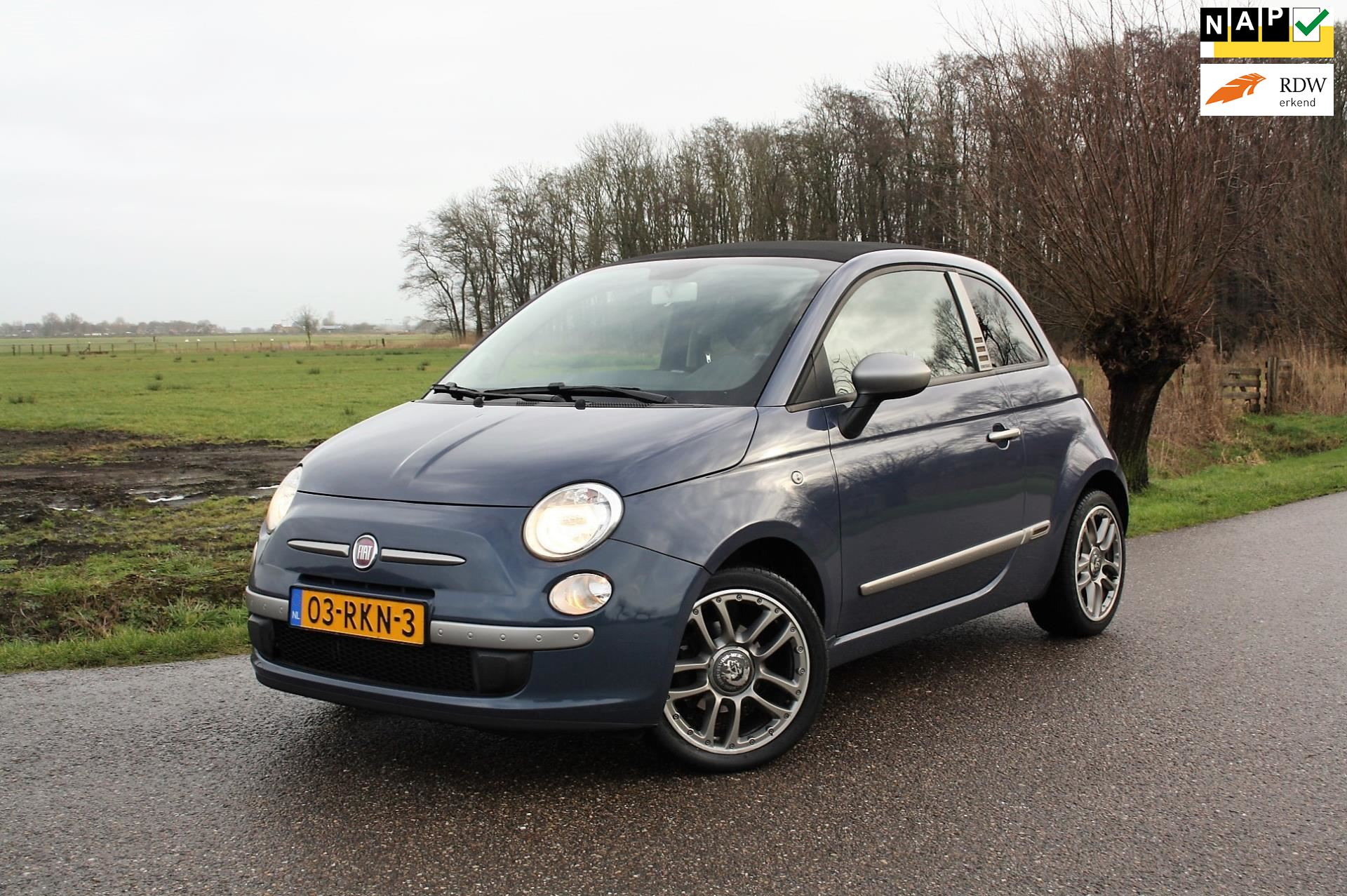 Fiat 500 C occasion - Favoriet Occasions