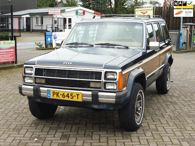 Jeep Wagoneer 4.0 /Limited/bj1989/leer/aut./VERKOCHT