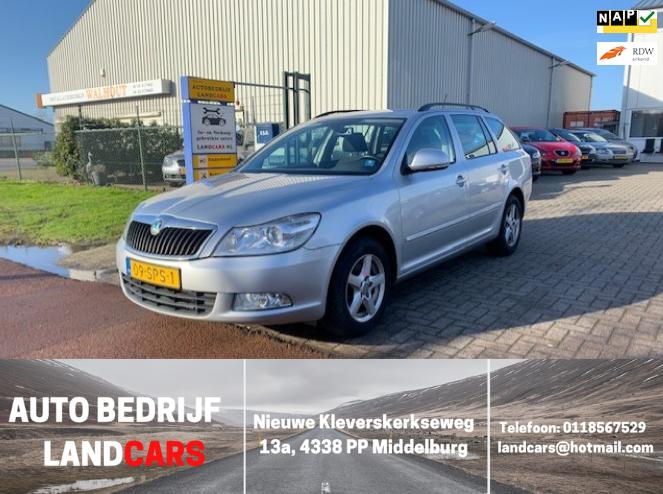 Skoda Octavia Combi occasion - Land Cars Middelburg