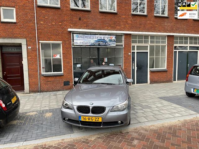 BMW 5-serie 520i Executive hele mooie bmw automaat met nap kilometer stand