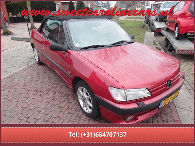 Peugeot 306 Cabriolet 1.8 Pininfarina ,elec.pakket,leder,lmv