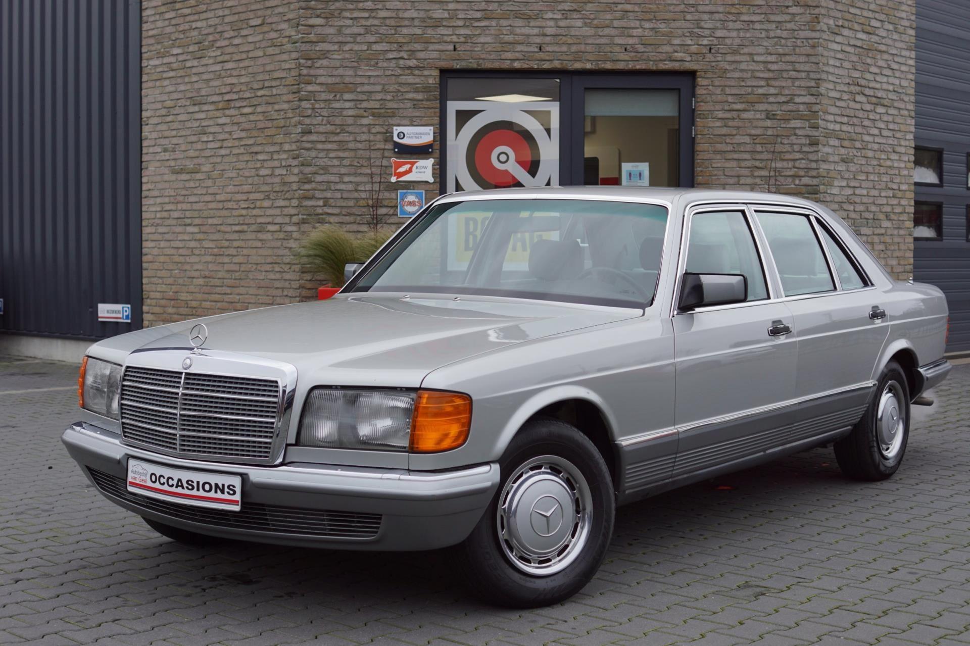 Mercedes-Benz S-klasse occasion - Autobedrijf Van Geel