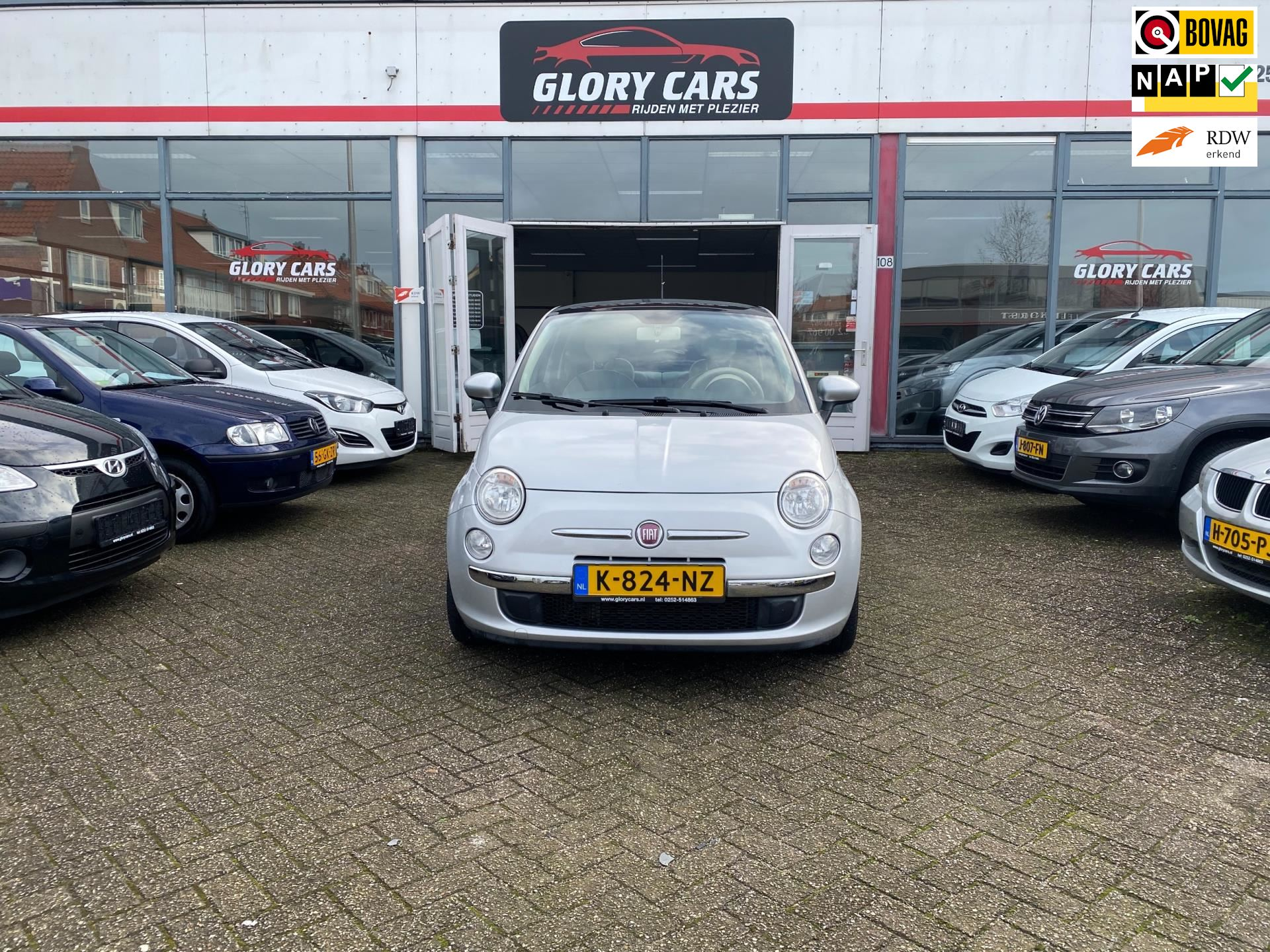 Fiat 500 occasion - Glory Cars