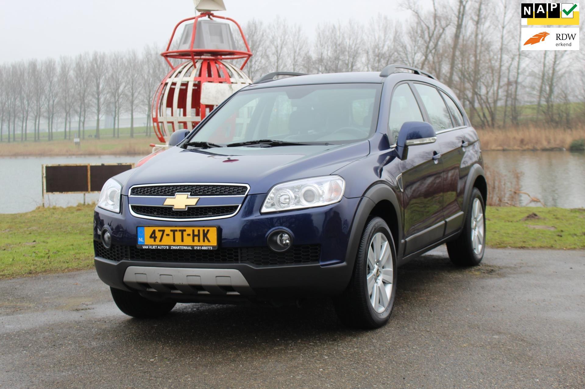 Chevrolet Captiva occasion - Van Vliet Auto's