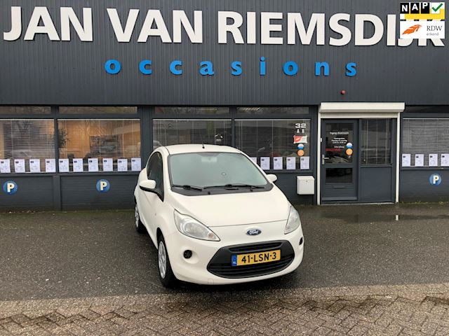Ford Ka 1.2 Cool&Sound bj 2010 AIRCO NAP  WIT 2995 eu