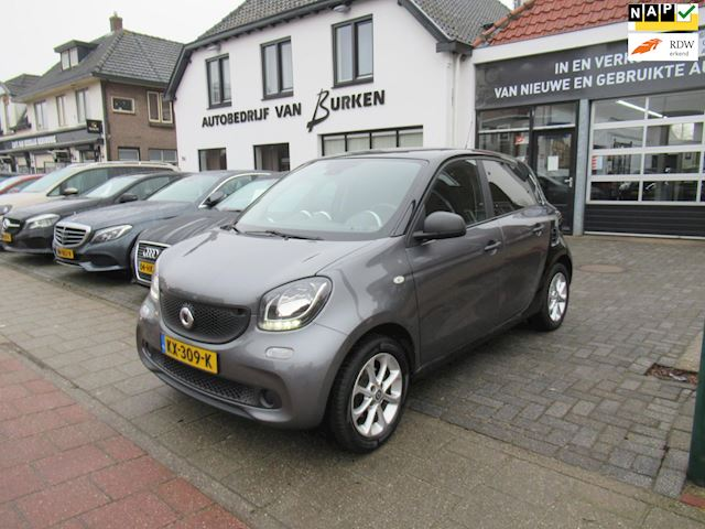 Smart Forfour 1.0 Pure,Climate control,Cruise control,L.M.Velgen,Private glass