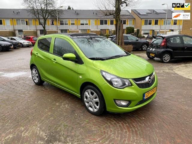 Opel KARL UNIEK met vouw dak / Stoelverwarming / Parkeersensoren achter / Mooie auto