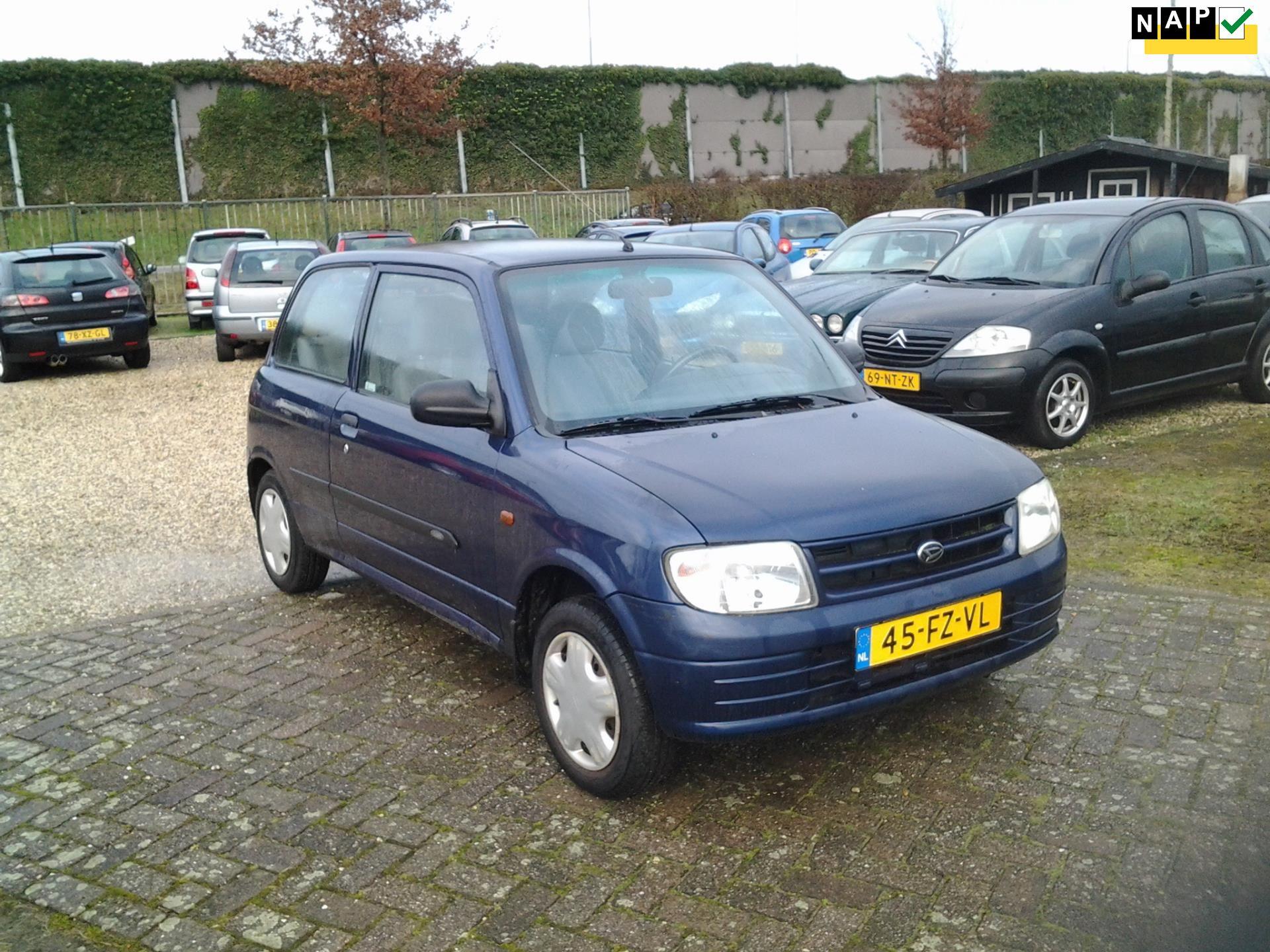 Daihatsu Cuore occasion - Van der Wielen Auto's