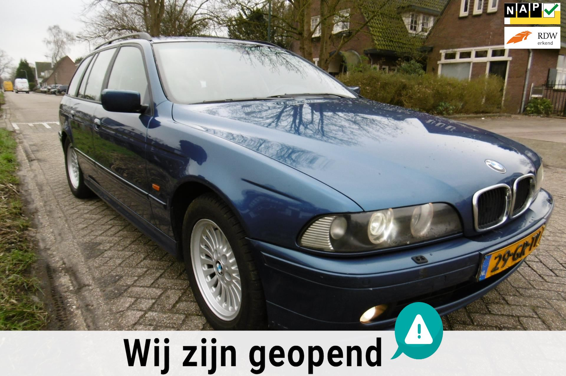 BMW 5-serie Touring occasion - Occasiondealer 't Gooi B.V.