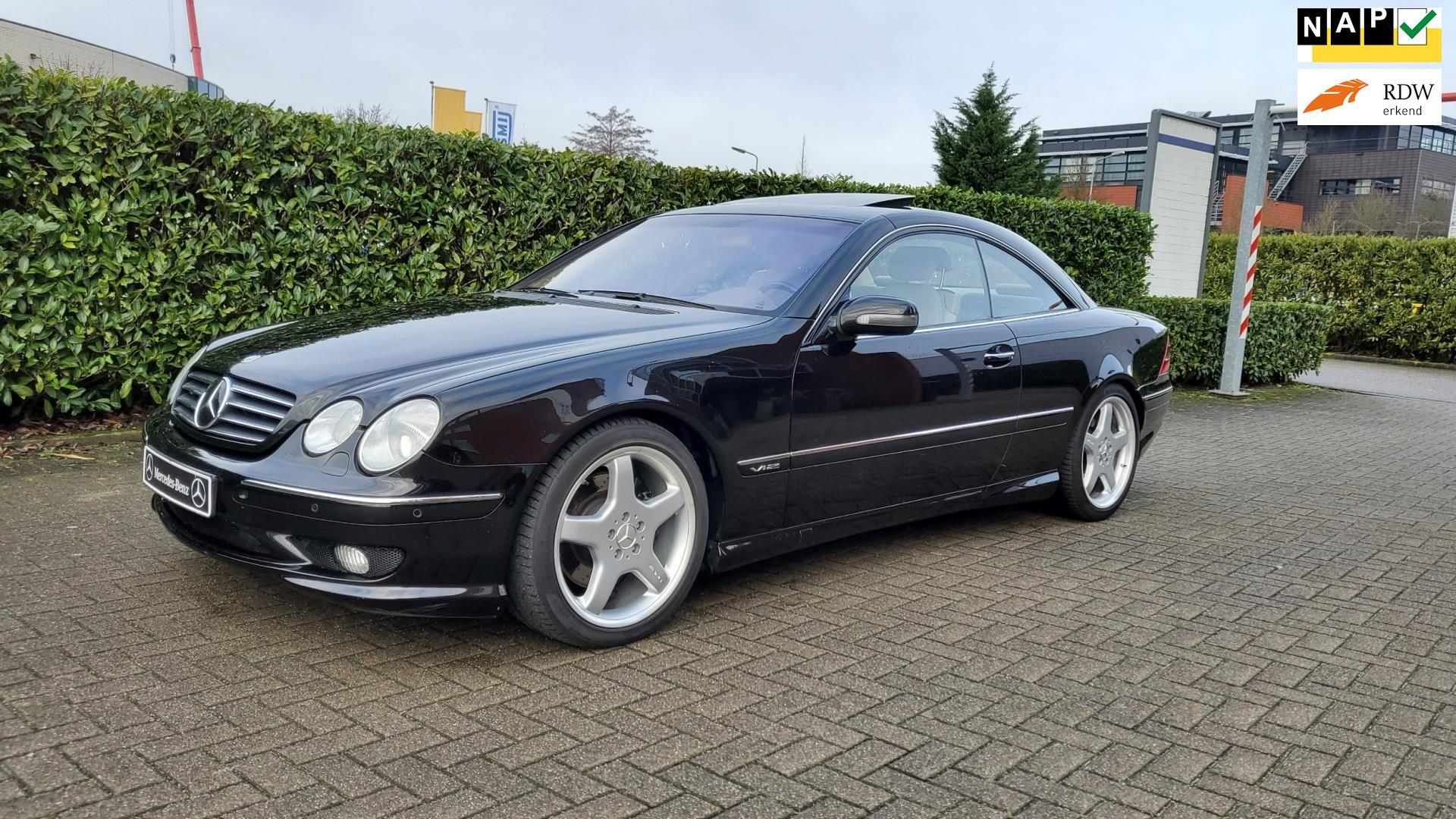Mercedes-Benz CL-klasse occasion - YoungTimersHolland