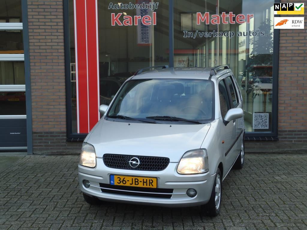 Opel Agila occasion - Autobedrijf Karel Matter