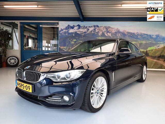 BMW 4-serie Coupé 420i Business Luxury Line, M-Sportonderstel Navigatie Cruise Control Sportstoelen, Handsfree, NAP, Chrome Accent