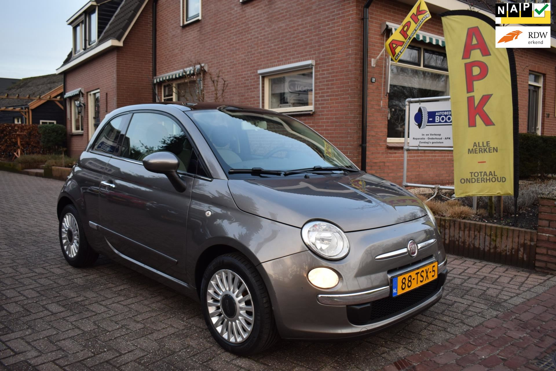 Fiat 500 occasion - Autobedrijf Booij