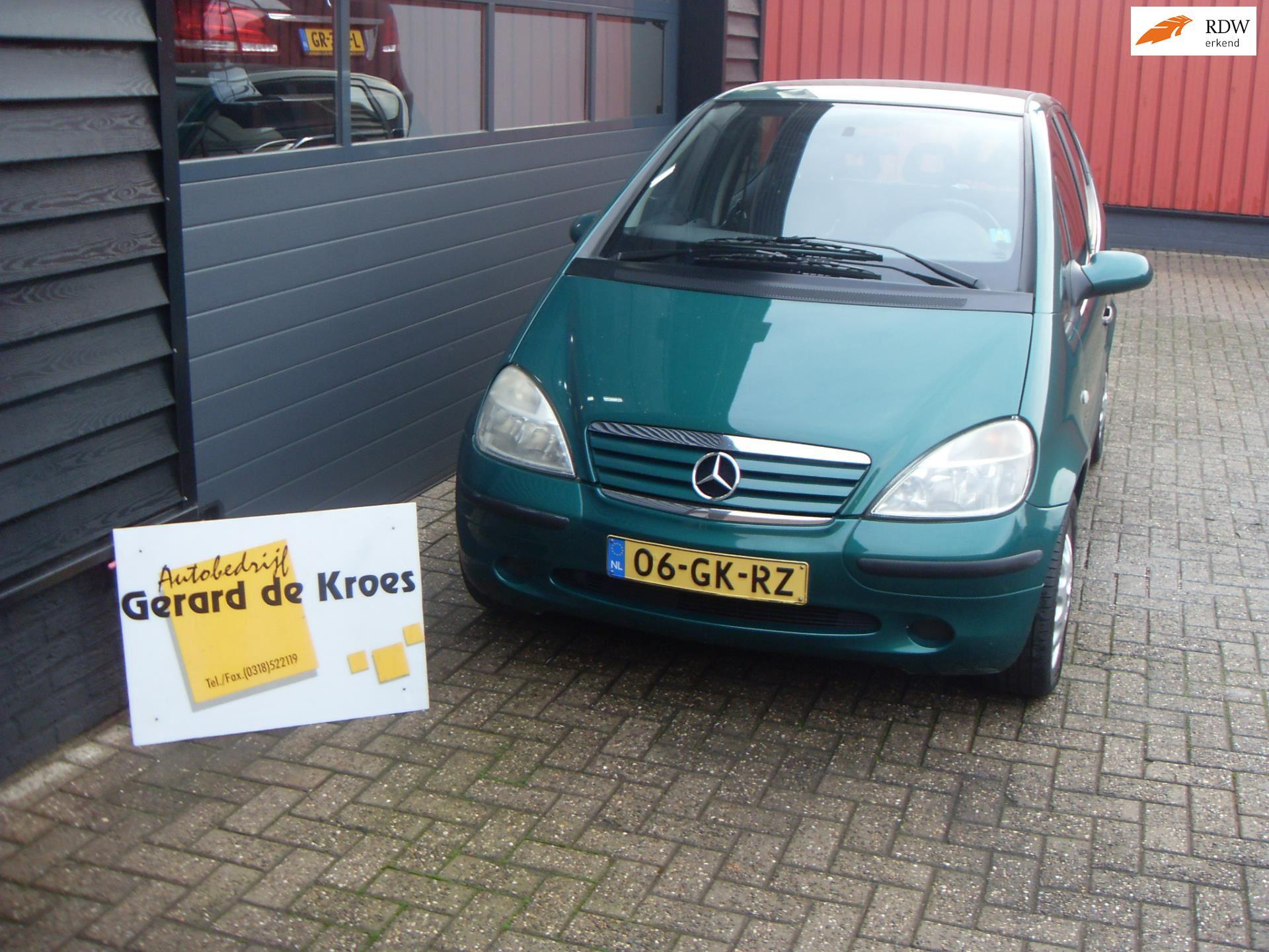 Mercedes-Benz A-klasse occasion - Autobedrijf Gerard de Kroes