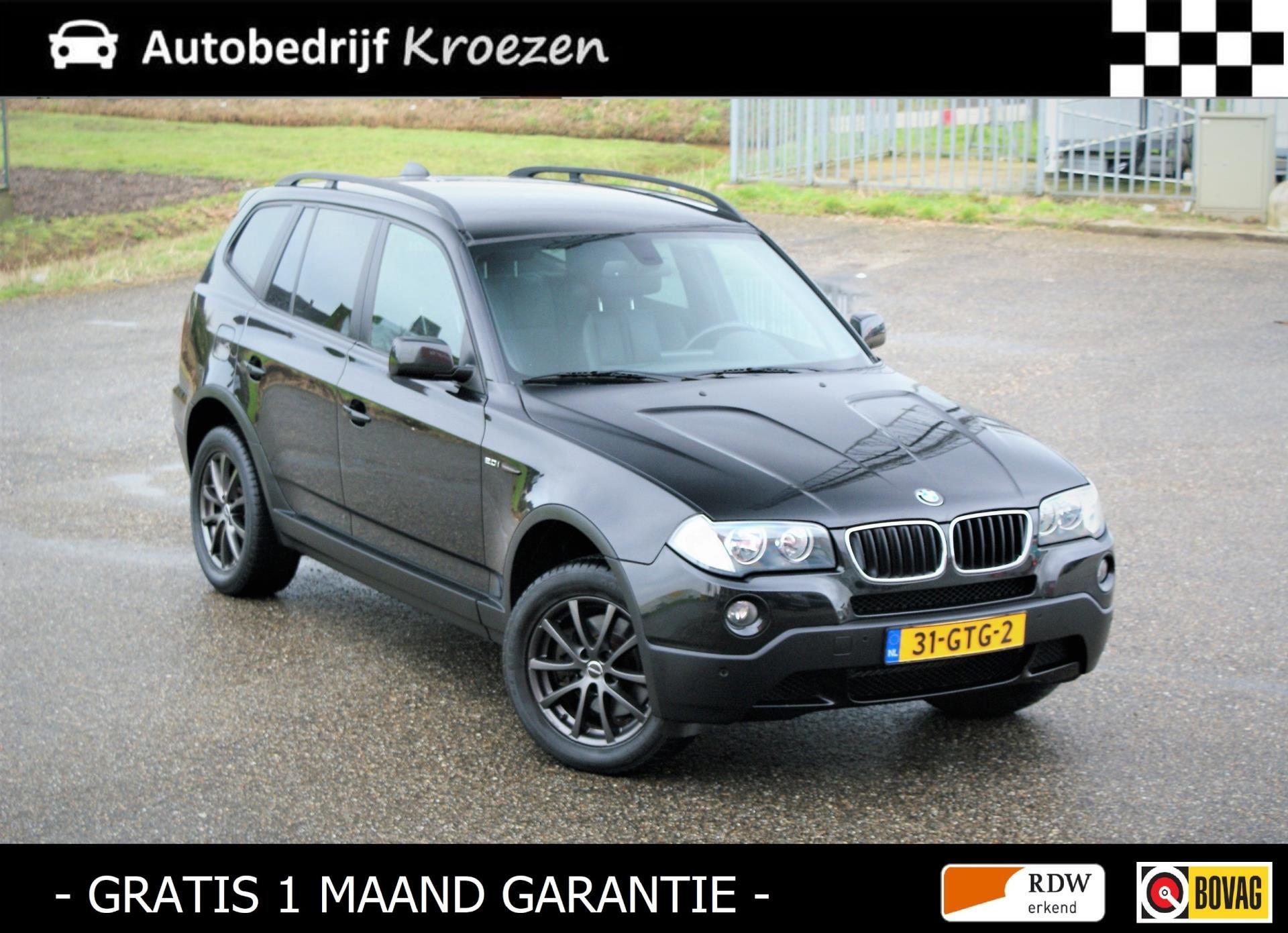 BMW X3 occasion - Autobedrijf Kroezen