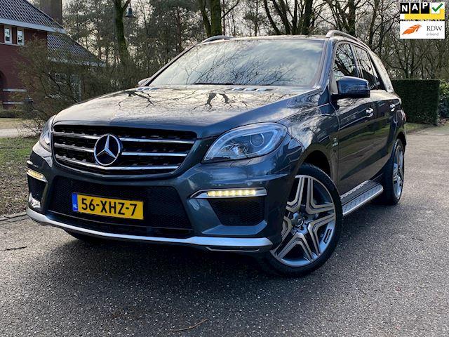 Mercedes-Benz M-klasse 63 AMG V8 BITURBO 525PK Full Options NL Geleverd