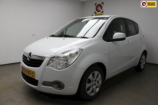 Opel Agila 1.2 Edition|BOVAG-GARANTIE|AIRCO|APK|BOEKJES