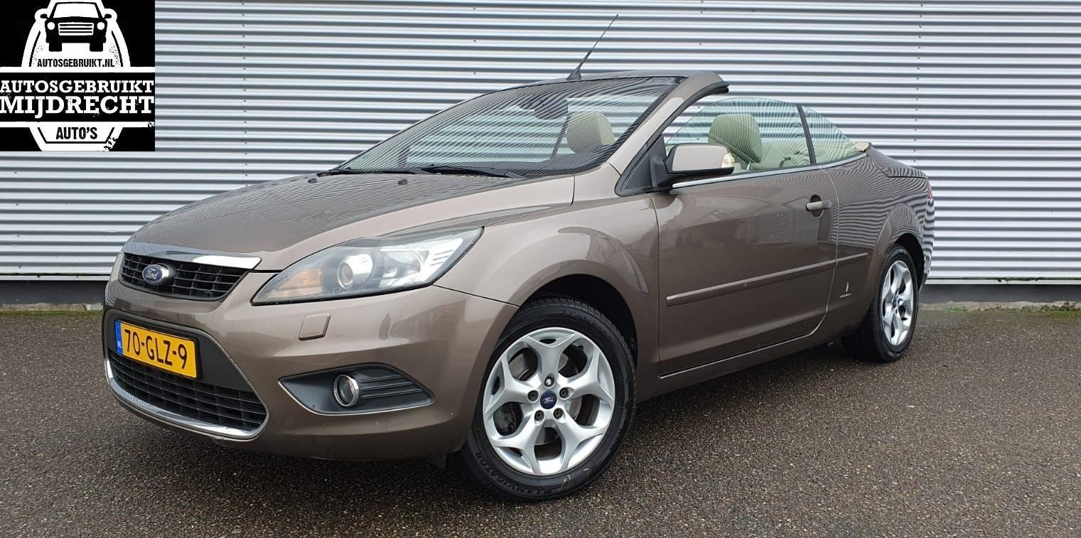 Ford Focus Coupé-Cabriolet occasion - Autosgebruikt Mijdrecht