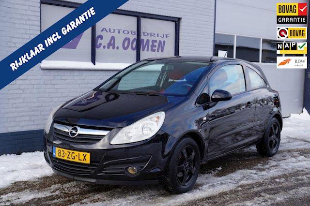 Opel Corsa 1.2-16V Enjoy met nieuwe distributieketting en apk keuring