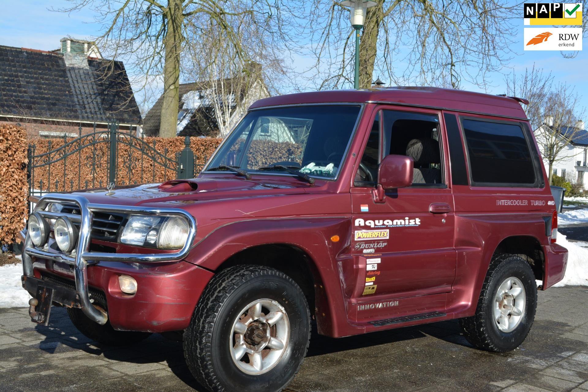 Mitsubitshi Galloper TC occasion - Autobedrijf Kiewiet (Auto 25)
