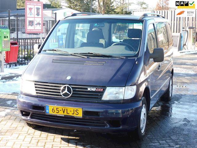 Mercedes-Benz Vito 108 CDI/rolstoelvervoer/bj2000/lift systeem/airco/apk/nette bus