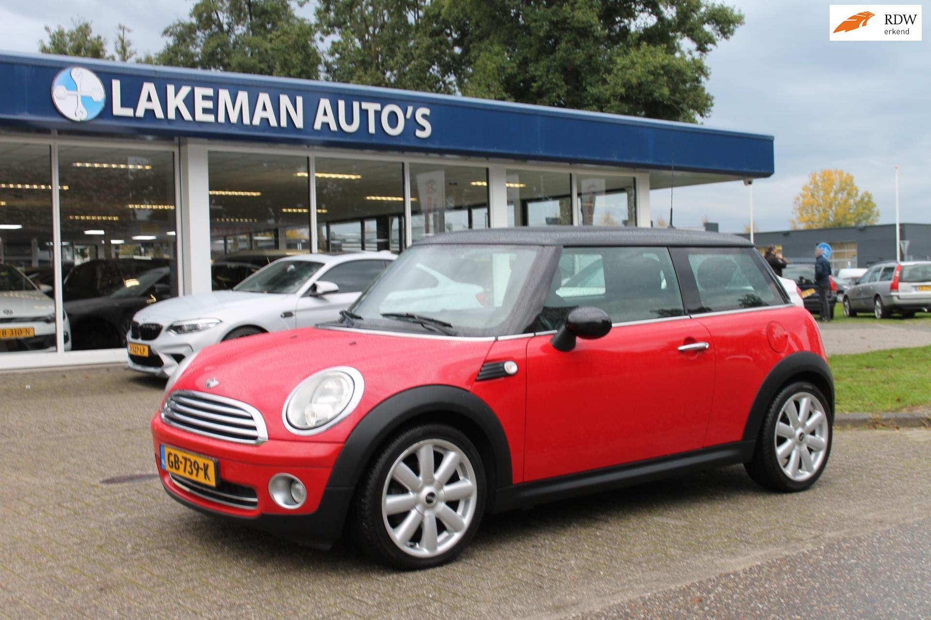 Mini Mini occasion - Lakeman auto's Almere B.V.