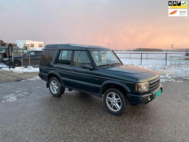 Land Rover Discovery Grijs kenteken Youngtimer Nieuwe APK