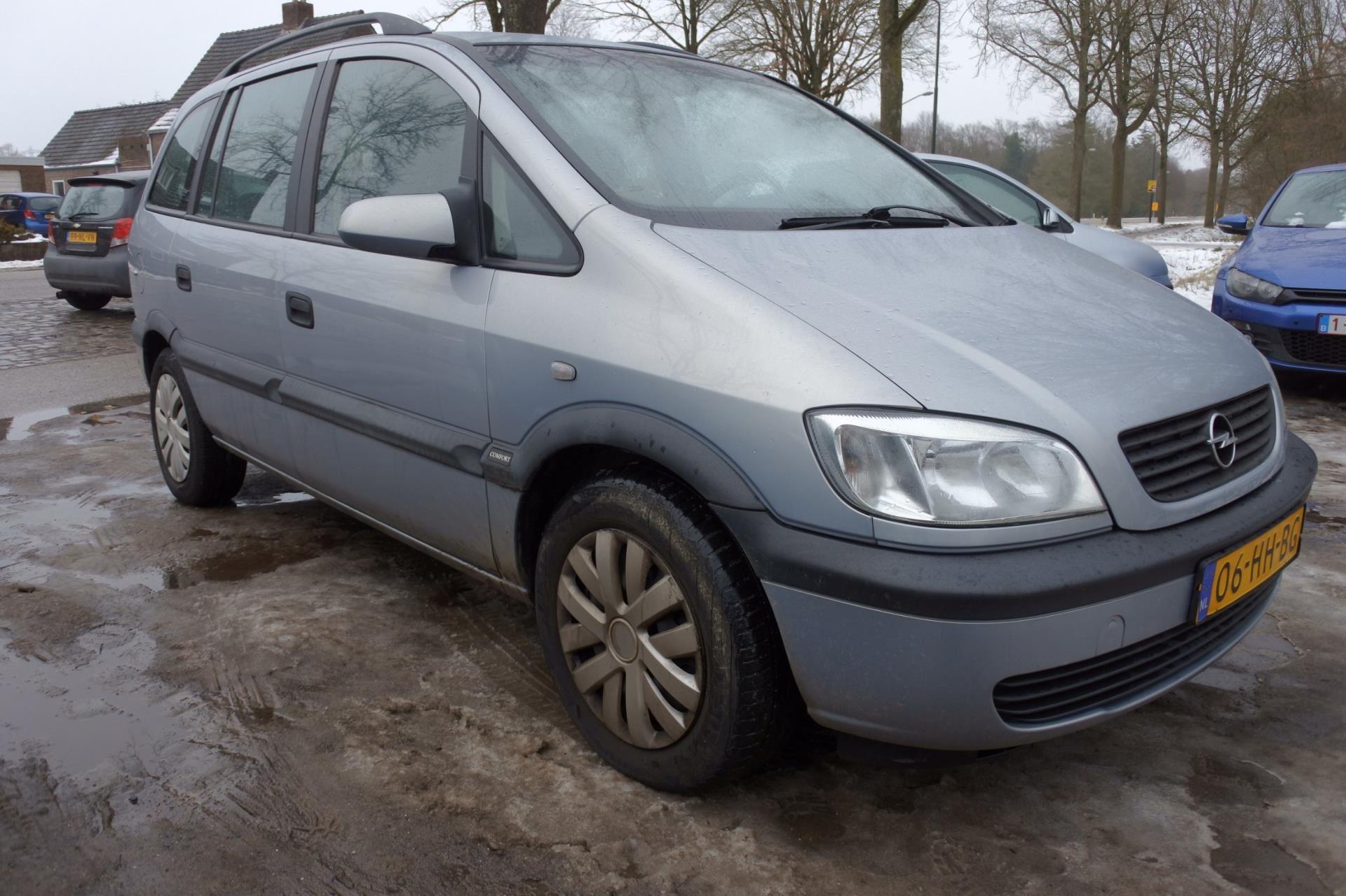 Opel Zafira occasion - Van Keulen Auto's