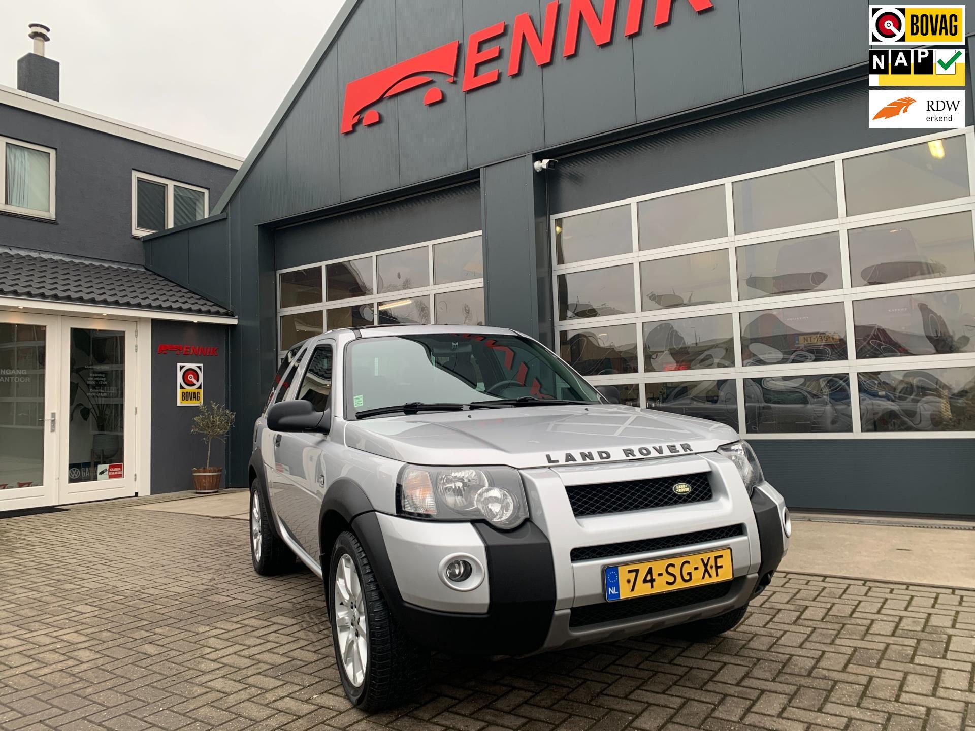 Land Rover Freelander Hardback occasion - Ennik Autobedrijf