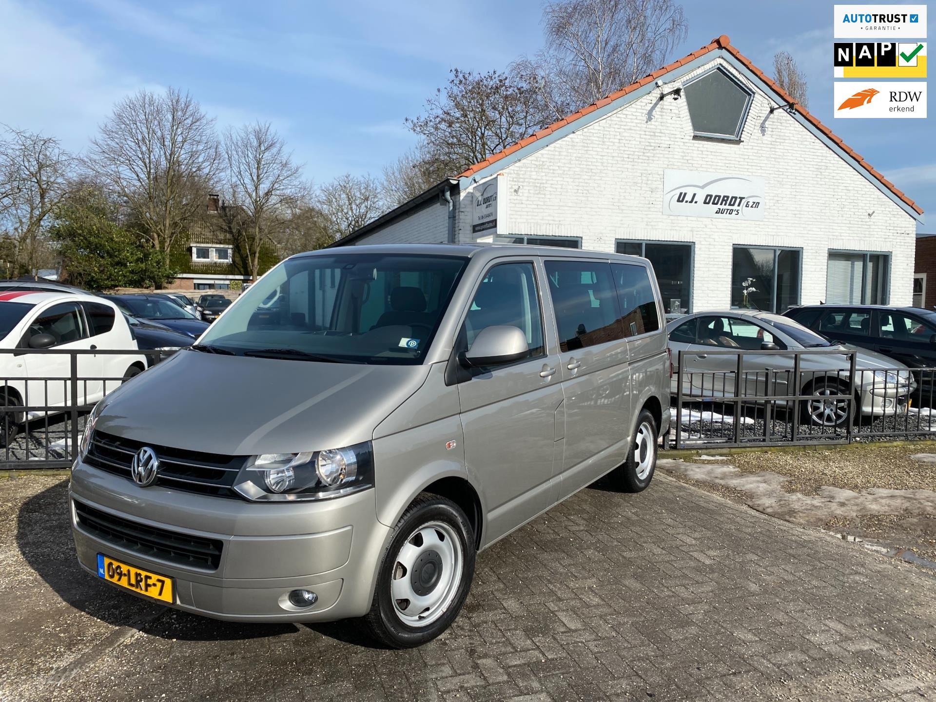 Volkswagen Transporter Kombi occasion - U.J. Oordt Auto's
