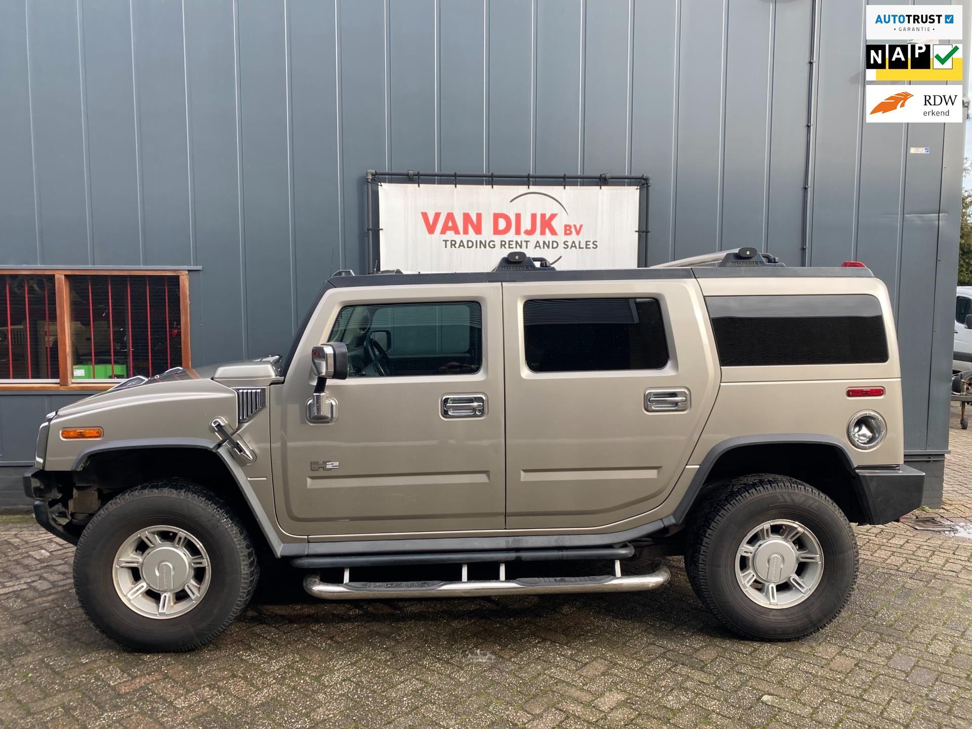 Hummer H2 occasion - Autobedrijf van Dijk