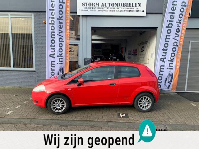 Fiat Grande Punto 1.2 Sportsound met onderhoudshistorie, Airco, NAP en een nieuwe APK!!!