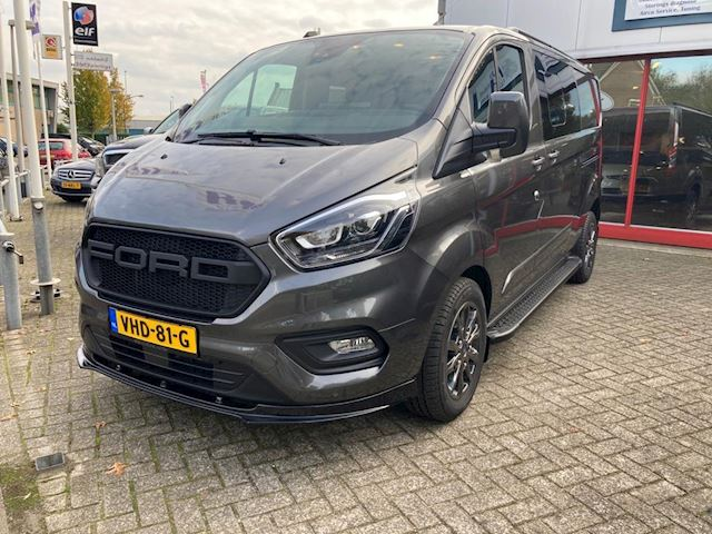 Ford Transit Custom 170 PK AUTOMAAT LIMITED  SPORT DUBBELE CABINE L2 bj 2021